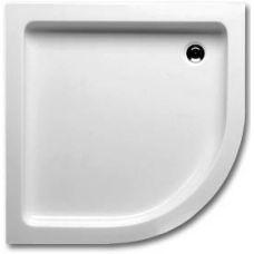 Акриловый полукруглый душевой поддон Riho (Рихо) 207/210 90*90 см для душевой шторки в ванной комнате