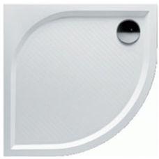Полукруглый душевой поддон Riho (Рихо) Kolping DB10 80*80 см из литого мрамора для душевой шторки в ванной комнате