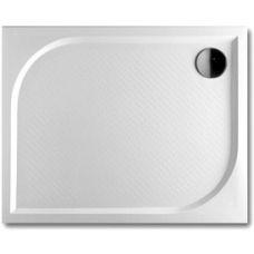Прямоугольный душевой поддон Riho (Рихо) Kolping DB32 100*90 см из литого мрамора для душевой шторки в ванной комнате