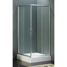 Прямоугольная душевая шторка Riho (Рихо) Hamar Square 80*80 для душевого поддона в ванной комнате