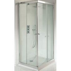 Прямоугольная душевая шторка Riho (Рихо) Lucena Square 90*90 для душевого поддона в ванной комнате