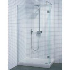 Прямоугольная душевая шторка Riho (Рихо) Polar P201 100*80 для душевого поддона в ванной комнате