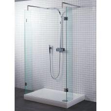 Прямоугольная душевая шторка Riho (Рихо) Polar P202 140*90 для душевого поддона в ванной комнате