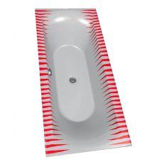 Цветная акриловая ванна Riho (Рихо) Funny Motive Line Hroty 22M