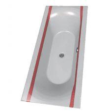 Цветная акриловая ванна Riho (Рихо) Funny Motive Line Skotske Pruhy 27M