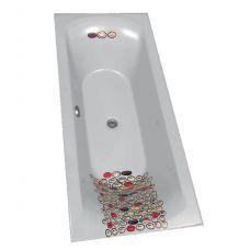 Цветная акриловая ванна Riho (Рихо) Funny Motive Line Narody 6M