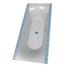 Цветная акриловая ванна Riho (Рихо) Funny Motive Line Zahonek Modry 9M