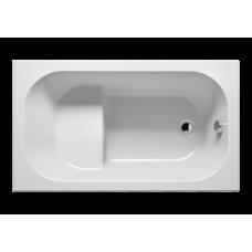 Прямоугольная акриловая ванна Riho (Рихо) Petit 120*70 (Петит) с сидением
