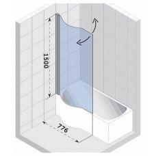 Шторка для ванны Riho (Рихо) Nautic (Наутик) Dorado