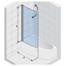 Шторка для ванны Riho (Рихо) Nautic (Наутик) Lyra