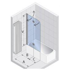 Шторка для ванны Riho (Рихо) Nautic (Наутик) N500 L1000