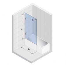 Шторка для ванны Riho (Рихо) Scandic (Скандик) S107 80