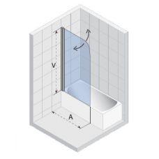 Шторка для ванны Riho (Рихо) Nautic (Наутик) N107 75