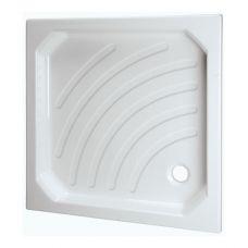 Прямоугольный душевой поддон Vidima (Видима) W838501 80*80 см для душевой шторки в ванной комнате