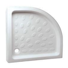 Полукруглый душевой поддон Vidima (Видима) W857001 90*90 см для душевой шторки в ванной комнате