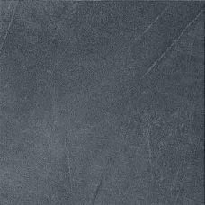 Напольный керамогранит VitrA (ВитрА) Arcadia (Аркадия) Black LP K822924LP 45*45 см для ванной комнаты, кухни, прихожей в квартире или доме