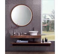 Tono Комплект мебели (тумба+столешница+раковина+донный клапан+сифон+зеркало)