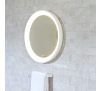 Aro Зеркало 80 см крион белый/черный кант