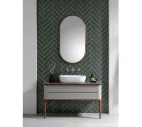 Liem Комплект мебели (тумба со столешницей+ножки+раковина+зеркало)