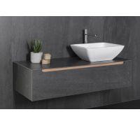 Tile Aged Dark Комплект мебели (тумба+раковина+зеркало)