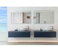 Lounge Blue Комплект мебели (тумба+раковина+зеркало)
