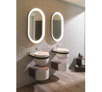 Aro Комплект мебели (тумба+раковина+донный клапан+сифон+зеркало)