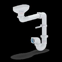 Сифон Анипласт DR5000 с разрывом струи/потока для раковины-умывальника в НАЛИЧИИ!!!