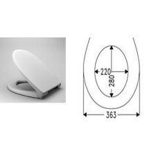 Универсальная крышка-сиденье Haro (Харо)  Фавос 537110  для большинства унитазов