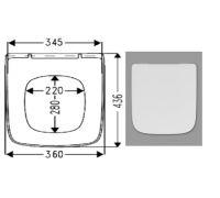 Крышка сиденье для унитаза Haro (Харо) Стайл 53680