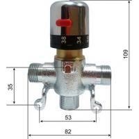 Термостатический смеситель Oxo O-512