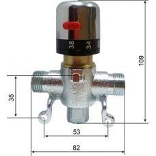 Термостатический смеситель Oxo (Оксо) O-512