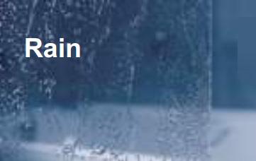 Вид шторки Ravak - Rain - полистирол