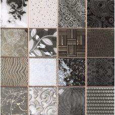 Испанская мозаика Dune (Дюн) Tiffany Black 186637 D-920 28,1*28,1 см для ванной комнаты