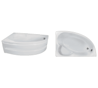 Акриловая ванна Eurolux Спарта 160*100