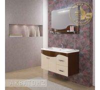 Мебель Акватон Абсолют 100 для ванной комнаты