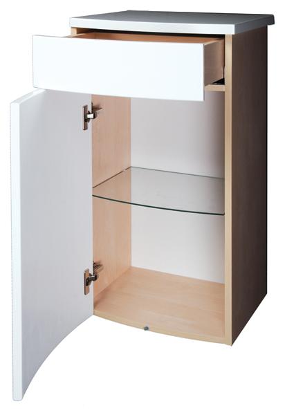 Нижний шкаф RAVAK (РАВАК) PS (ПС) с ящиком (левый или правый)